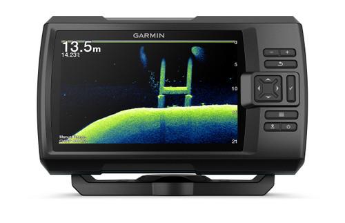 """Garmin Striker Vivid 7cv 7"""""""" Fishfinder Gps Track Plotter With Gt20"""