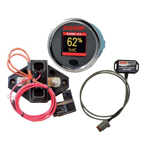 Balmar SG210 Battery Monitor Kit w\/Display Shunt Gateway