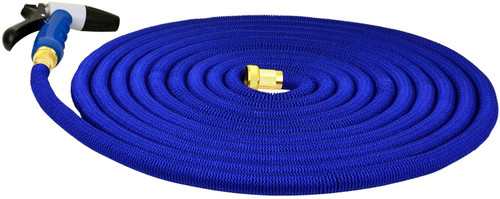 Hosecoil 75' Expandable Hose With Spray Nozzel