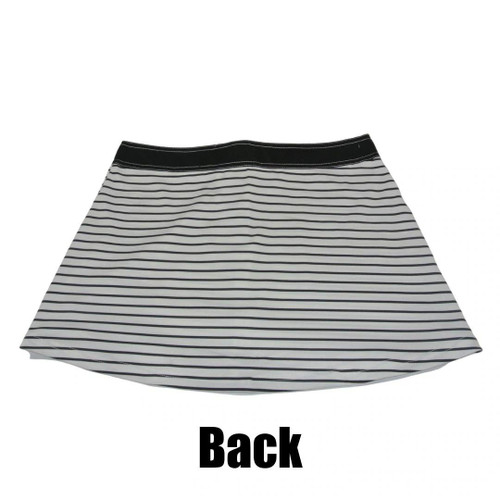 Casablanca Swim Skirt | Black & White Stripe | PWC Jetski Swimwear