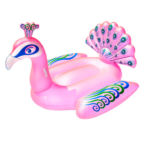 Aqua Leisure Aqua Flash Light Up Princess Peacock Ride-On Float - Pink