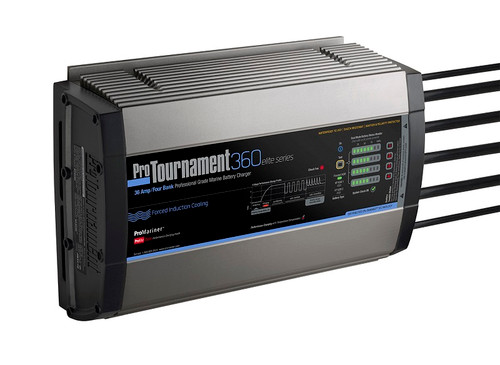 Promariner Protournament 360 36 Amp Battery Charger 12/24/36/48v 4 Bank 120v Input
