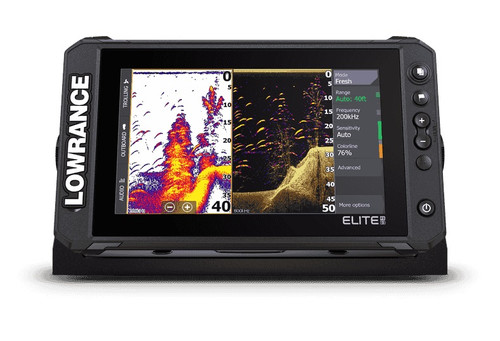 Lowrance Elite Fs 9 Active Imaging 3in1 Transducer C-map Contour+