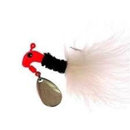Blakemore Road Runner Maribou 1/8 Red/Black/White