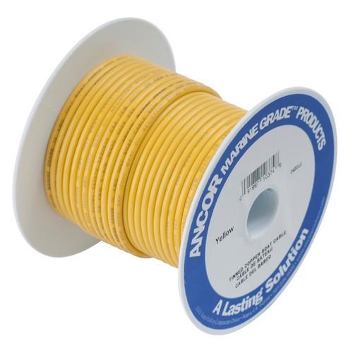Ancor #4 Yellow 25' Spool Tinned Cooper