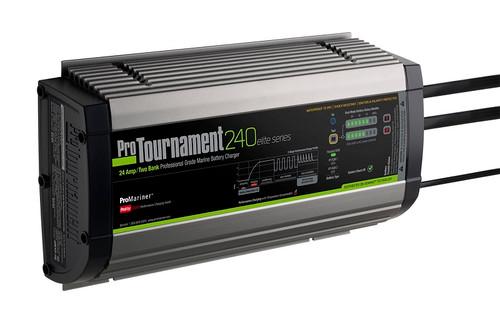 Promariner Protournament 240 24 Amp Battery Charger 12/24v 2 Bank 120v Input