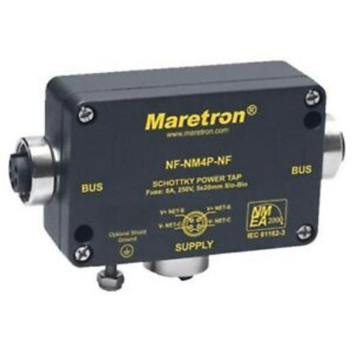 Maretron Nf-nm4p-nf Mini Powertap Female-female With Fuses