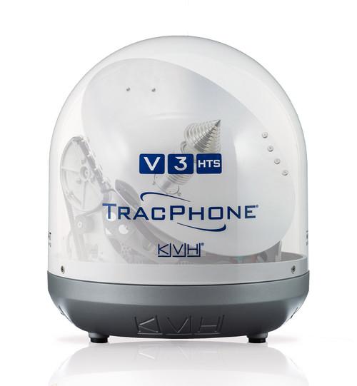 """Kvh Tracphone V3hts 14.5"""""""" Vsat Requires Coaxial Cable X 2"""