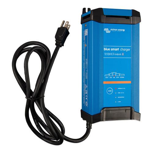 Victron Blue Smart IP22 12VDC 30A 3 Bank 120V Charger - Dry Mount