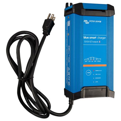 Victron Blue Smart IP22 12VDC 15A 3 Bank 120V Charger - Dry Mount