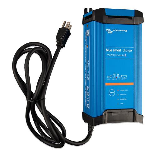 Victron Blue Smart IP22 12VDC 20A 1 Bank 120V Charger - Dry Mount