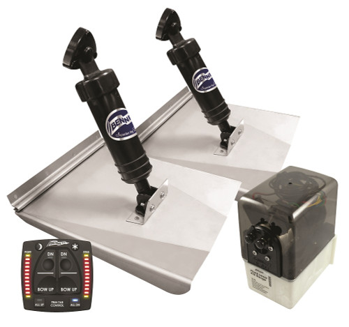 Bennett M120 Trim Tabs With One Box Indication