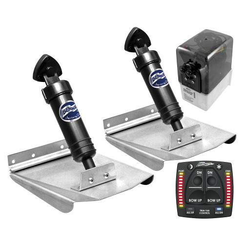 Bennett M80 Trim Tabs With One Box Indication