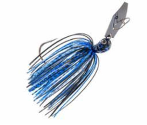 Z-Man Chatterbait Jack Hammer 3/8 Black/Blue
