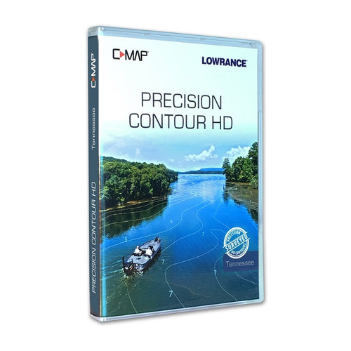 C-map Precision Contour Hd Tennessee For Navico - CMAMNAY901MS