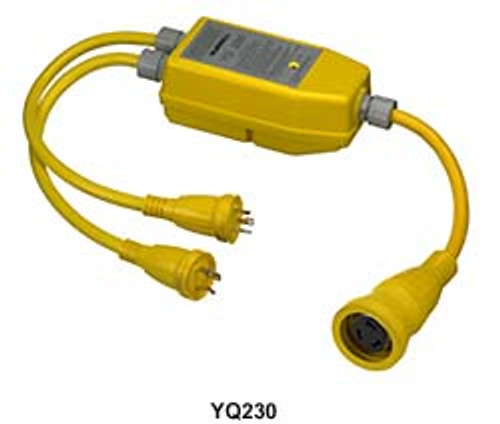 Hubbell Yq-230 Smart Y 1 50/250v Cord To 2 30a/125v