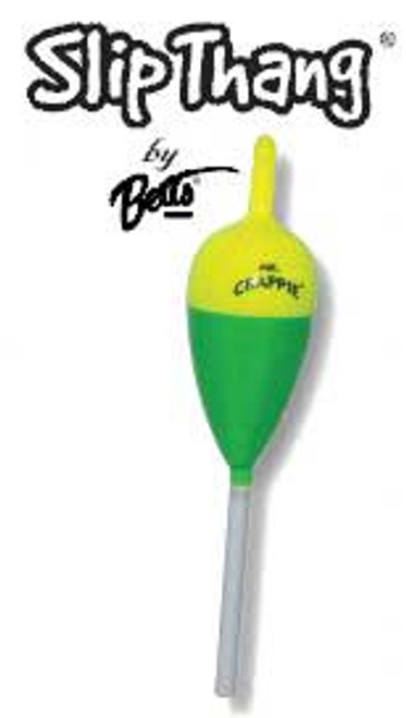 "Betts Mr Crappie Slip Thang Slip Stick 1"" Oval 2ct Zip Bag"