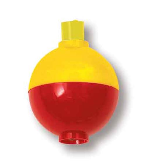 "Betts Snap-On Floats Orange/Yellow 1.50"" 50ct"