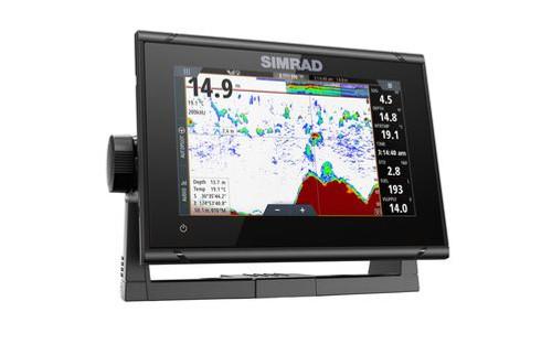 "Simrad Go7 Xsr 7"""" Plotter No Ducer C-map Discover Microsd"