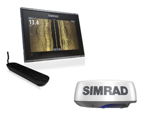Simrad Go9 Xse Halo+ Radar Active Imaging 3in1 Bundle C-map Discover