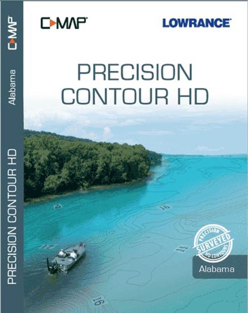 C-map Precision Contour Hd Alabama For Navico