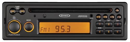 Jensen Jbr550 Am/fm/usb Bluetooth Stereo