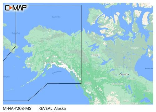C-map Reveal Coastal Alaska