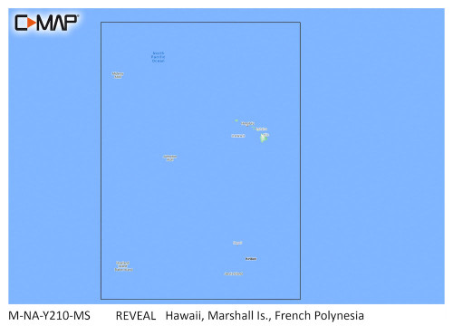 C-map Reveal Coastal Hawaii, Marshall Islands And French Polynesia