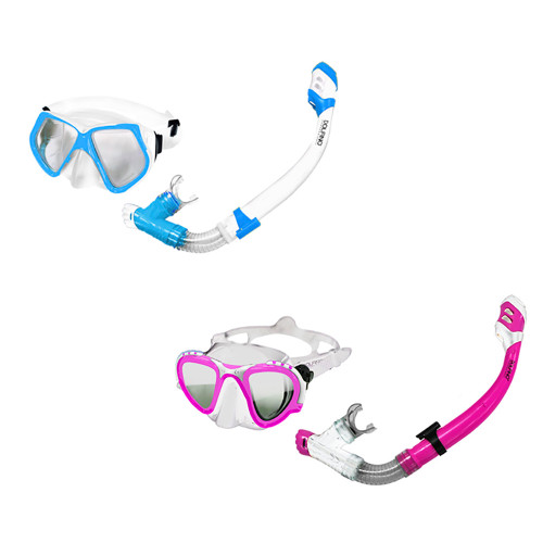 Aqua Leisure Gemini Pro Adult Combo Dive Set Mask  Snorkel *Assorted Colors