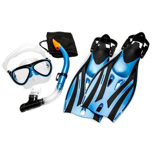 Aqua Leisure Ion Junior 5-Piece Dive Set - Ages 7+ Childrens Size 9.5-13.5