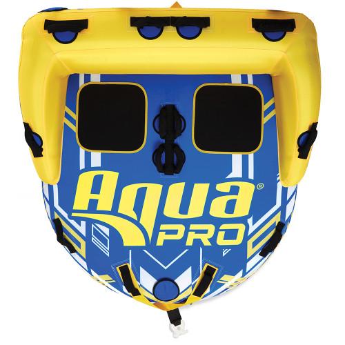 "Aqua Leisure Aqua Pro 65"" Two-Rider Towable w\/Backrest"