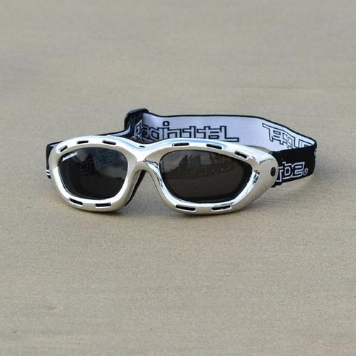 Classic Goggles | Silver Chrome Frame/Smoke Lens | PWC Floating Eyewear