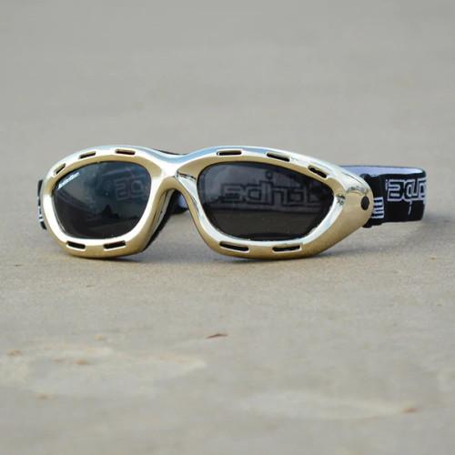 Classic Goggles | Gold Frame/Smoke Lens | PWC Floating Eyewear
