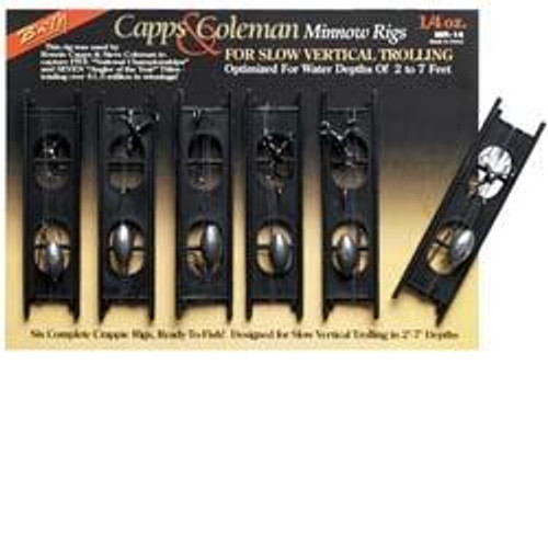 BnM Capps and Coleman Minnow Rigs 1/4oz 6/Card