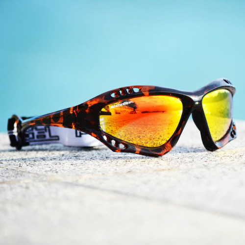 Pro Goggles Tortoise Fade Frame/Revo Lens Sunglasses PWC Jetski Racer
