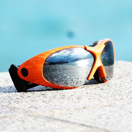 Spark Goggles Orange Frame/Smoke Lens includes Case
