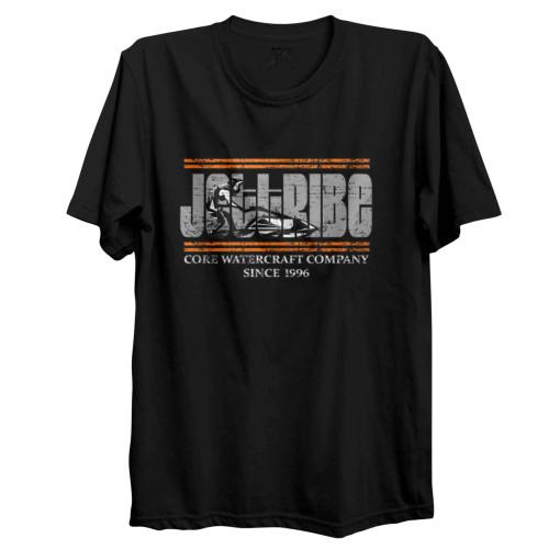 Stand-up Scene T-Shirt - Black PWC Jetski Ride & Race Apparel