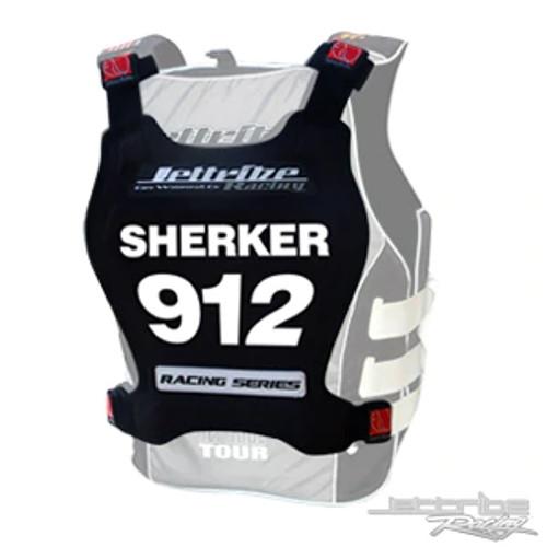 Racing Number Plate - Black PWC Jetski Ride & Race Accessories