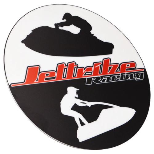 Acrylic Jettribe Icon Circle Logo Sign