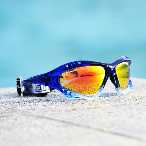 Pro Goggles Navy Fade Frame/Revo Lens Sunglasses PWC Jetski