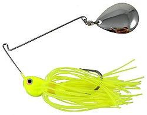 Strike King Potbelly Spinner Bait 3/8oz Chartreuse