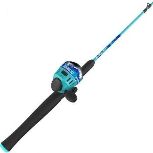 Zebco Splash Spincast Combo 6' 2pc M Blue
