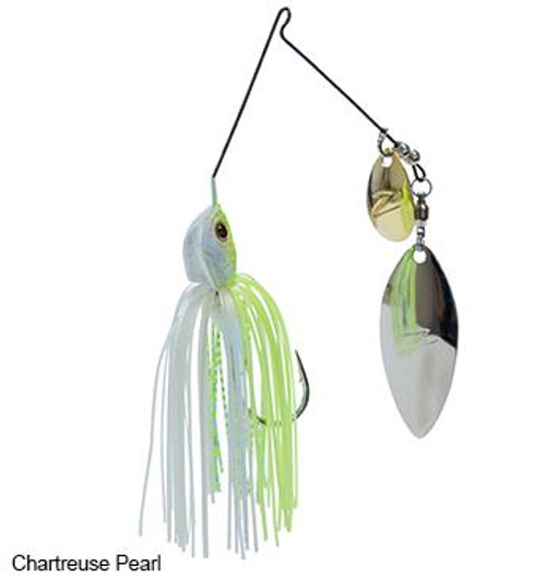 Z-Man Slingbladez Spinnerbait 3/4 Wil/Col Chartreuse Pearl
