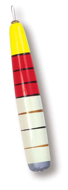"""Betts Pole Wood Floats Weighted 1""""x8"""""""