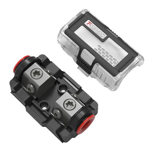 T-Spec VDMANL DUAL Mini-ANL Fuse Holder - 1\/0 to 4\/8 AWG