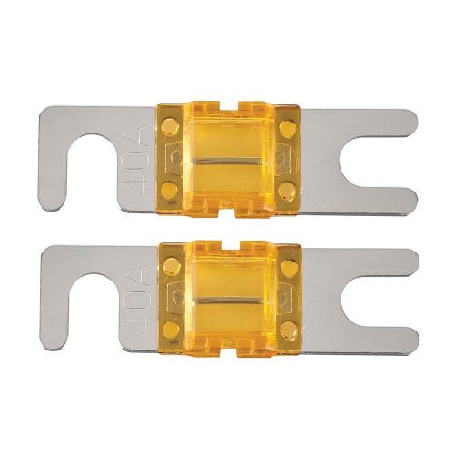 T-Spec V8 Series 40 AMP Mini-ANL Fuse - 2 Pack