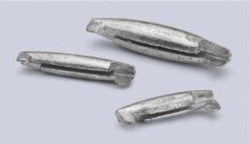 Bullet Weight Pinch-On Sinker Zip Lock 3/8 8ct