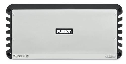 Fusion Sg-24da61500 Amplifier Class D Mono Block 1500w 6 Channel 24v