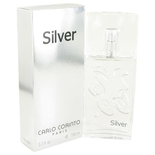 CARLO CORINTO SILVER by Carlo Corinto Eau De Toilette Spray 3.4 oz for Men