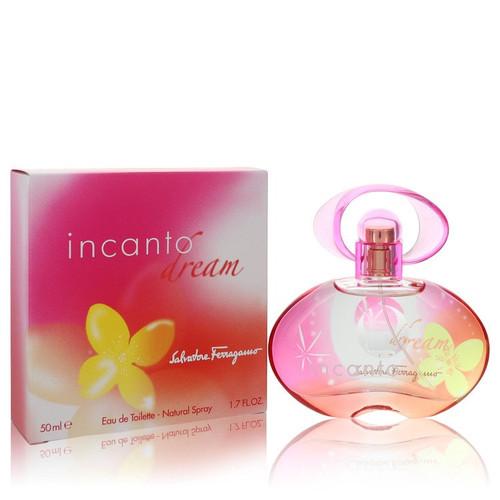 Incanto Dream by Salvatore Ferragamo Eau De Toilette Spray 1.7 oz for Women